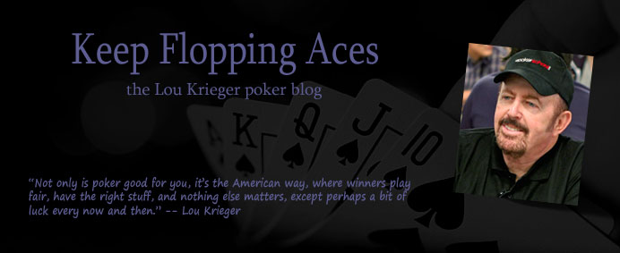 Lou Krieger Poker Blog